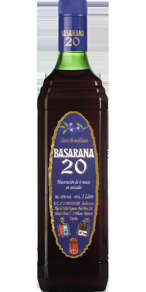 Licor de Endrinas Basarana 20