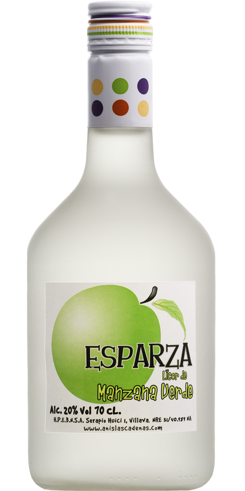 Green Apple Liqueur Esparza