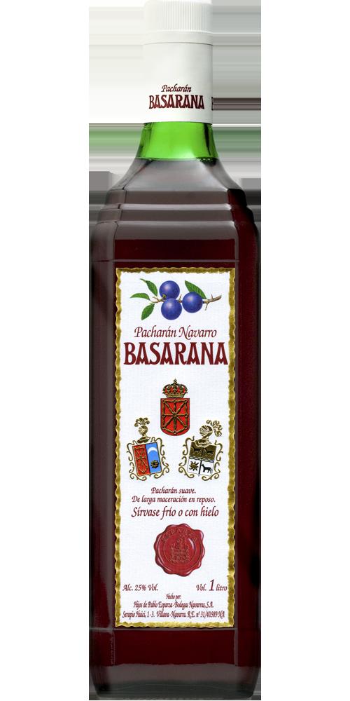 Pacharán Basarana<br>Etiqueta Blanca
