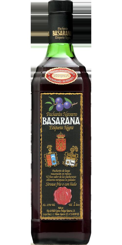 Pacharán Basarana<br>Etiqueta Negra