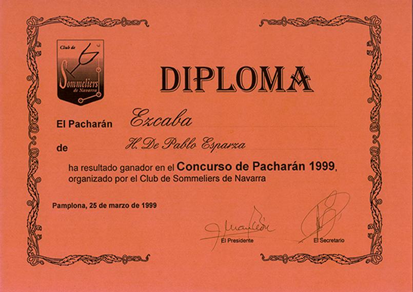 Premio Pacharán Basarana Etiqueta Negra
