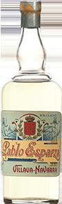 Botella Basarana Las Cadenas 1872