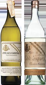 Botella Basarana Las Cadenas 1936-1939