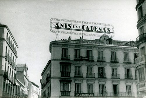 Publicidad del S.XX en Madrid.