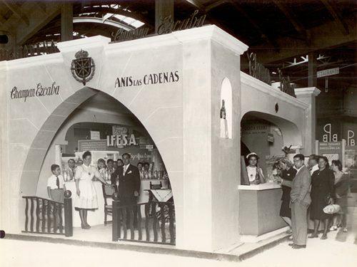 Exposición Barcelona mediados S.XX.