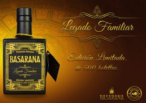 Pacharán Basarana Legado Familiar Edición Limitada
