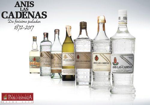 Evolución Botellas Anís Las Cadenas
